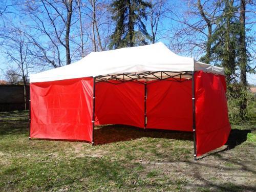 Kalocsa sátor oldalfallal